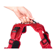 72192 - Explore Dog Harness Red