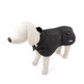 Dog Overcoat Lined Black
