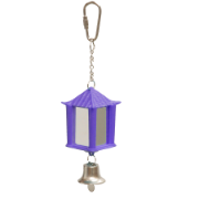 Bird Mirror Lantern Design With Bell 25mm x 60mm