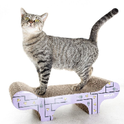RSPCA Cat Scratcher Bench Design 50x23x15cm