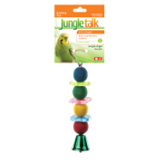 Bird Activity Toy, Jungle Jingle Acrylic