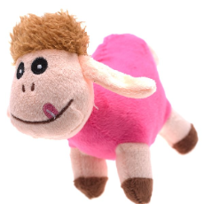 Dog Toy Shawn Sheep Assorted Colours 14cm