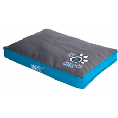 Flat Pod Bed -Turquoise Paws