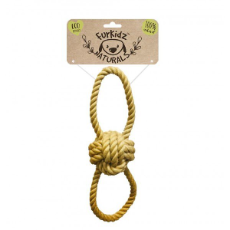Eco Friendly Rope Knott Ball Tug 36cm