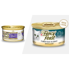 Fancy Feast Grilled Turkey in Gravy 85g
